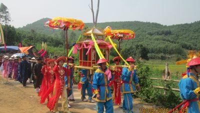 Độc đáo lễ hội Bà Thu Bồn Nông Sơn