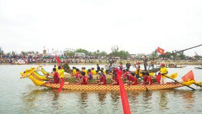 Tổ chức hội đua thuyền truyền thống